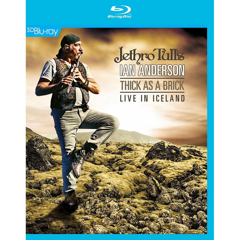 Jethro Tull's Ian Anderson - Thick As A Brick: Live in Iceland - Blu-ray