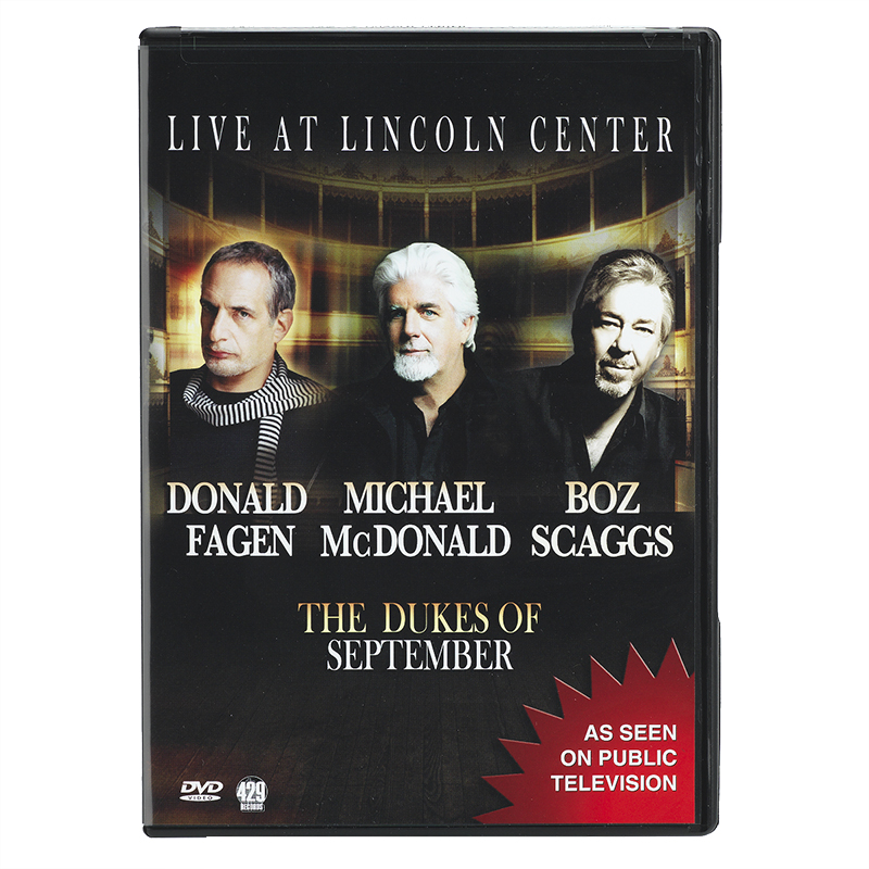 The Dukes of September Live from Lincoln Centre - DVD