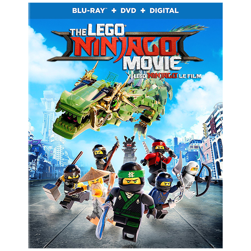 The Lego Ninjago Movie - Blu-ray
