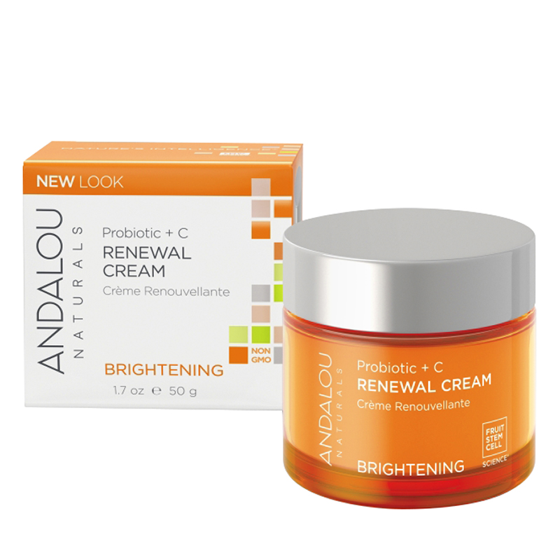 Andalou Naturals Probiotic + C Renewal Cream - 50ml