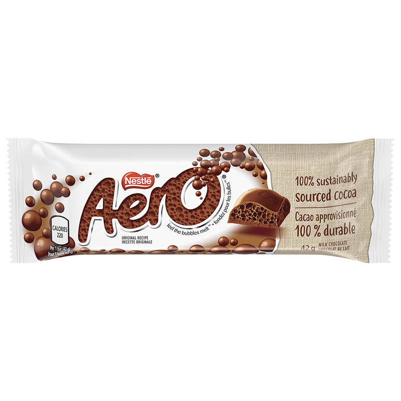 Nestle Aero - Milk Chocolate - 42g