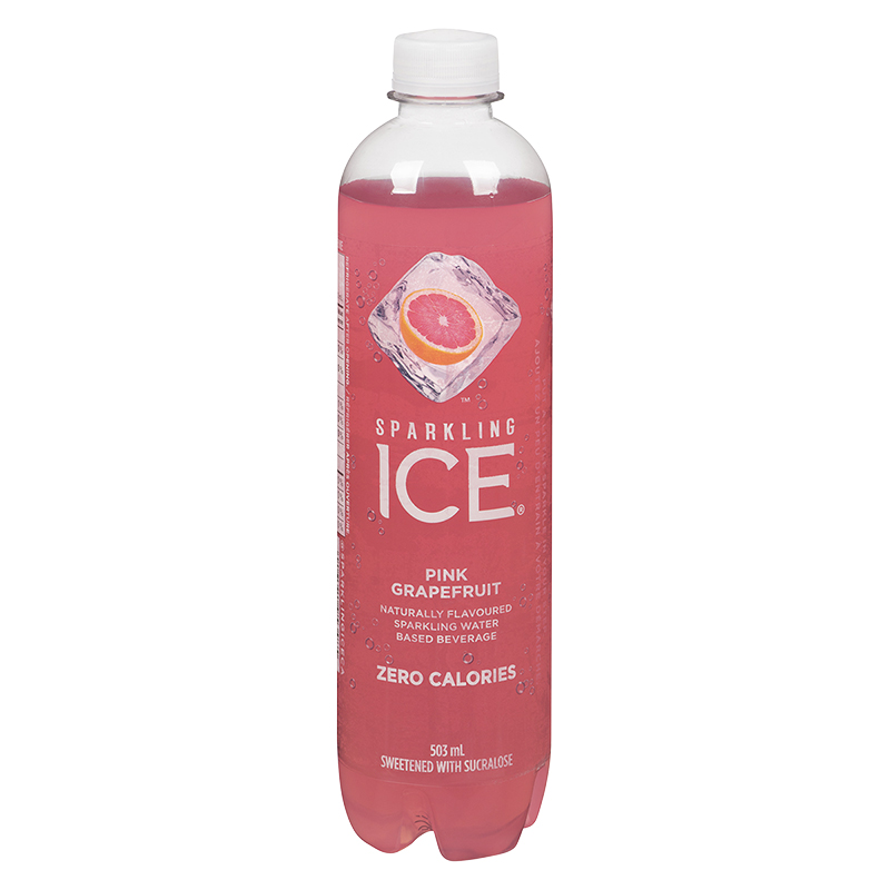 Sparkling Ice Sparking Water - Pink Grapefruit - 503ml