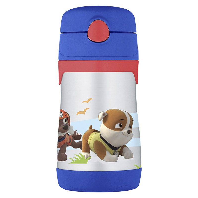Thermos Foogo Paw Patrol Straw Bottle - 290ml