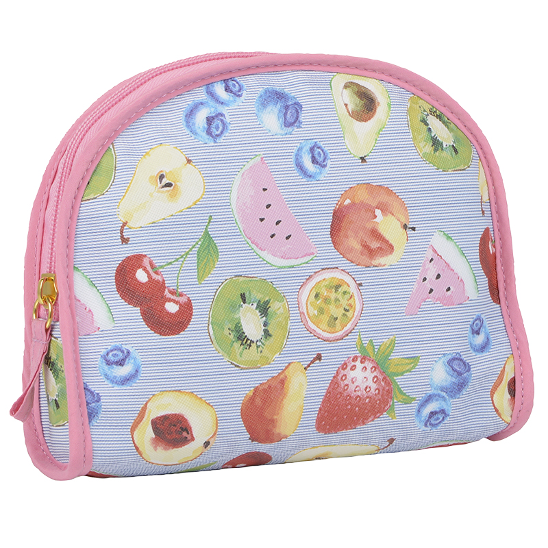 Modella Round Top Clutch Tote - Fruit Pattern - A009593LDC
