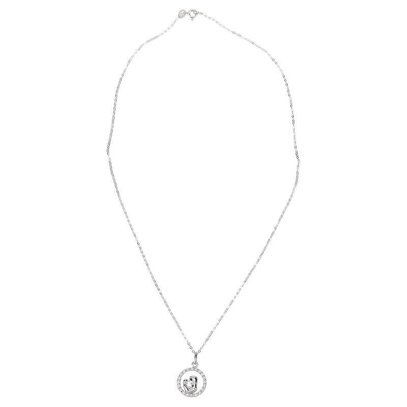 Charisma Stainless Steel Mom & Child Necklace