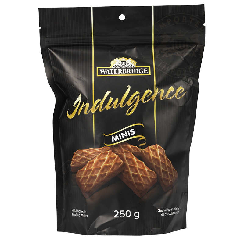 Waterbridge Indulgence Minis Chocolate Wafers - 250g