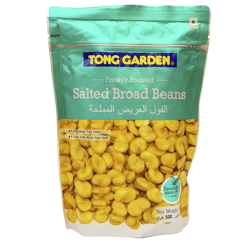 Tong Garden Salted Broad Beans - 500g
