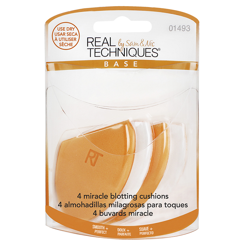 Real Techniques Miracle Blotting Cushions - 4s