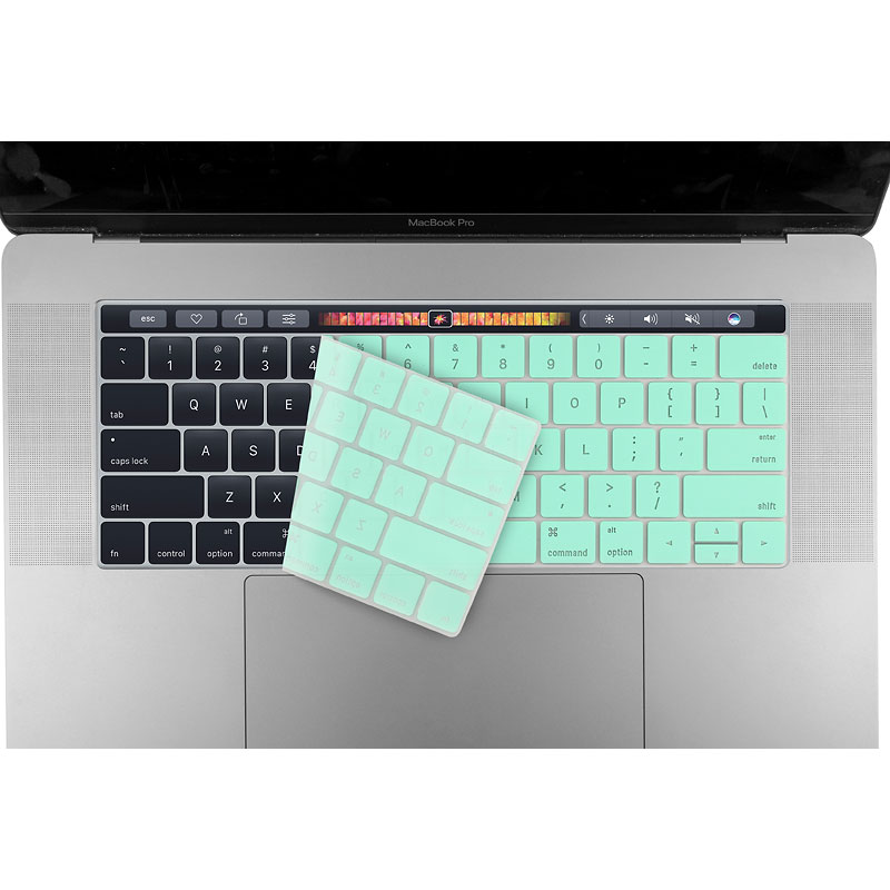 Logiix Phantom Keyboard Shield - MacBook Pro 13/15 with Touch Bar - Turquoise - LGX-12711