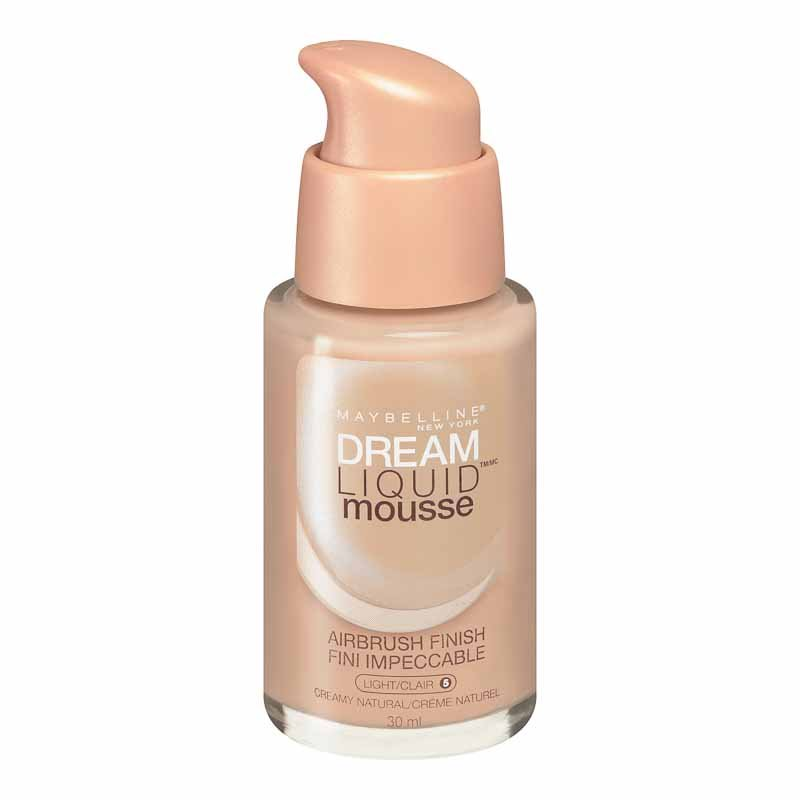 Maybelline Dream Liquid Mousse Foundation - Creamy Natural