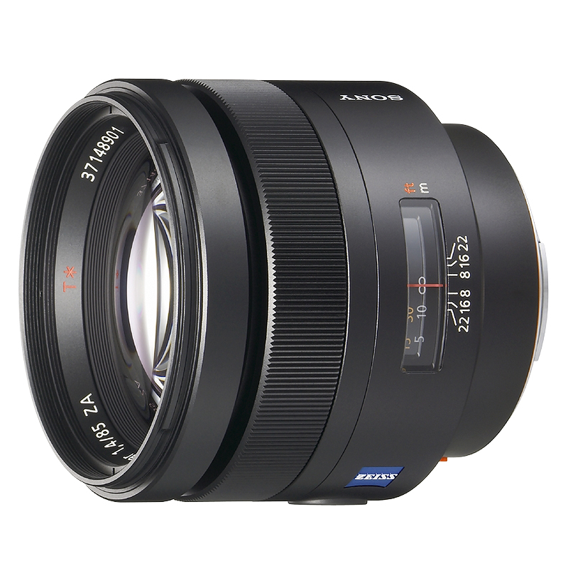 Sony Carl Zeiss Planar T* 85mm f/1.4 ZA Telephoto Lens - SAL85F14Z