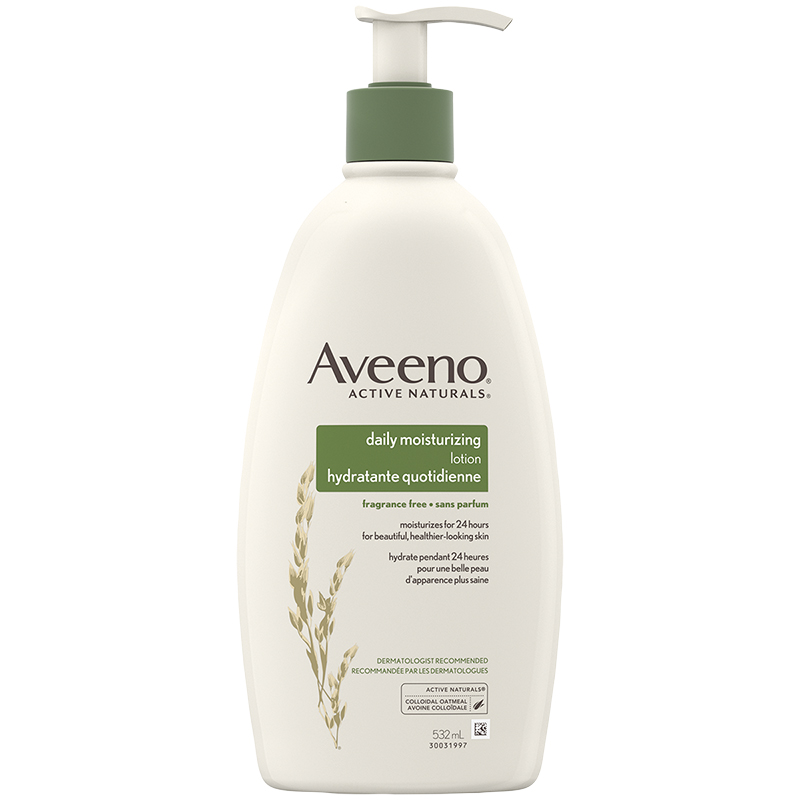 Aveeno Active Naturals Daily Moisturizing Lotion - Fragrance Free - 532mL