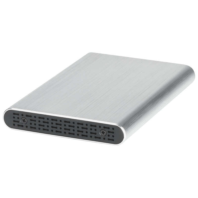 Certified Data USB 3.0 2.5inch SSD/HDD Aluminum Enclosure - Silver - EN-2526