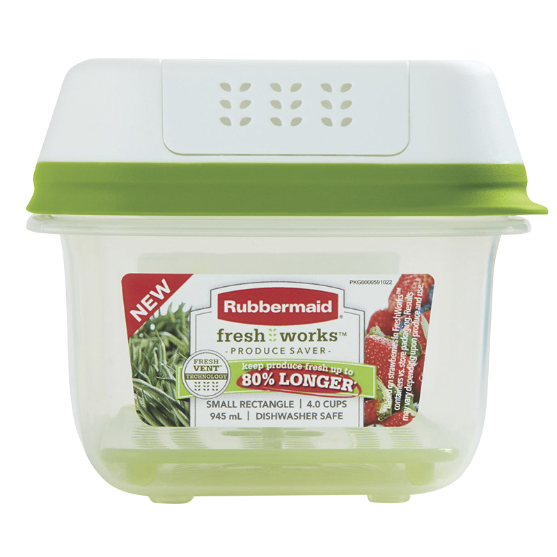 Rubbermaid FreshWorks Produce Saver - 4 cup
