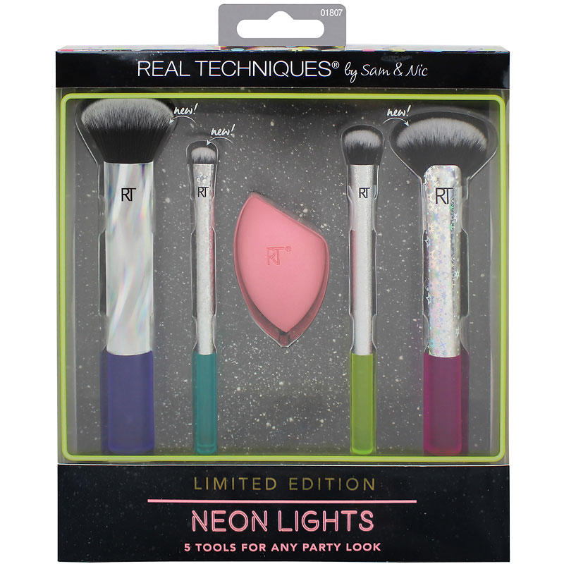 Real Techniques Neon Lights Set - 1807