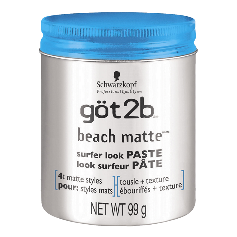 got2b Beach Matte Surfer Look Paste - 99g