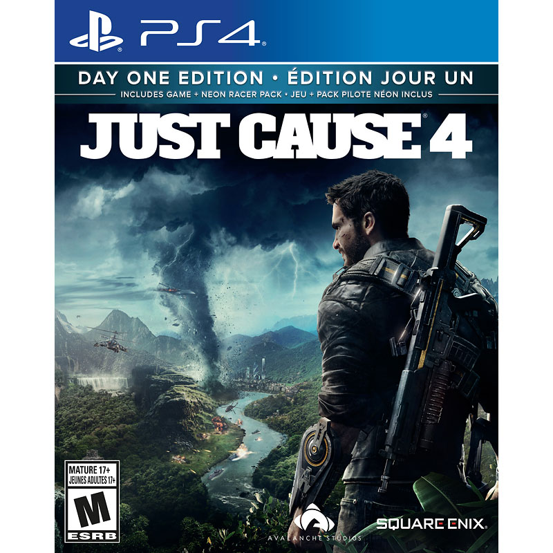 PRE ORDER: PS4 Just Cause 4 - Limited Edition