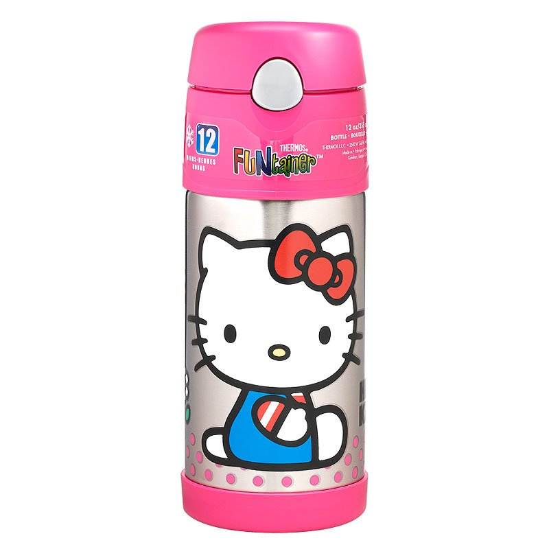 Thermos FUNtainer Bottle - Hello Kitty - 355ml
