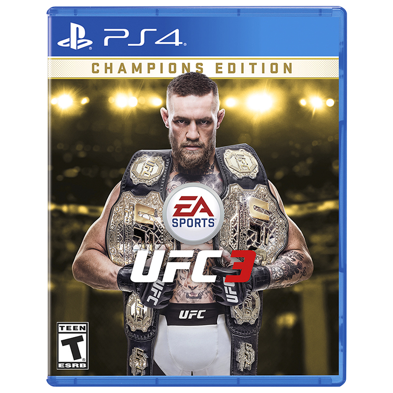 PS4 EA Sports - UFC 3: Champions Edition