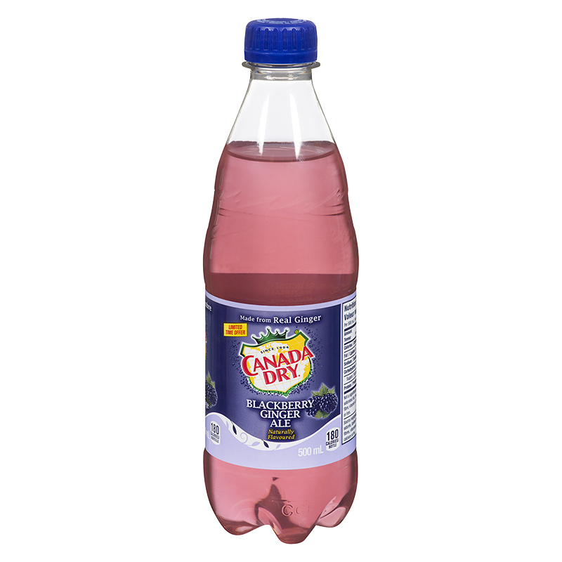 Canada Dry Blackberry Ginger Ale - 500ml