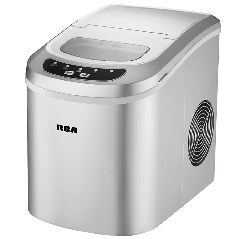 RCA Compact Ice Maker - Silver