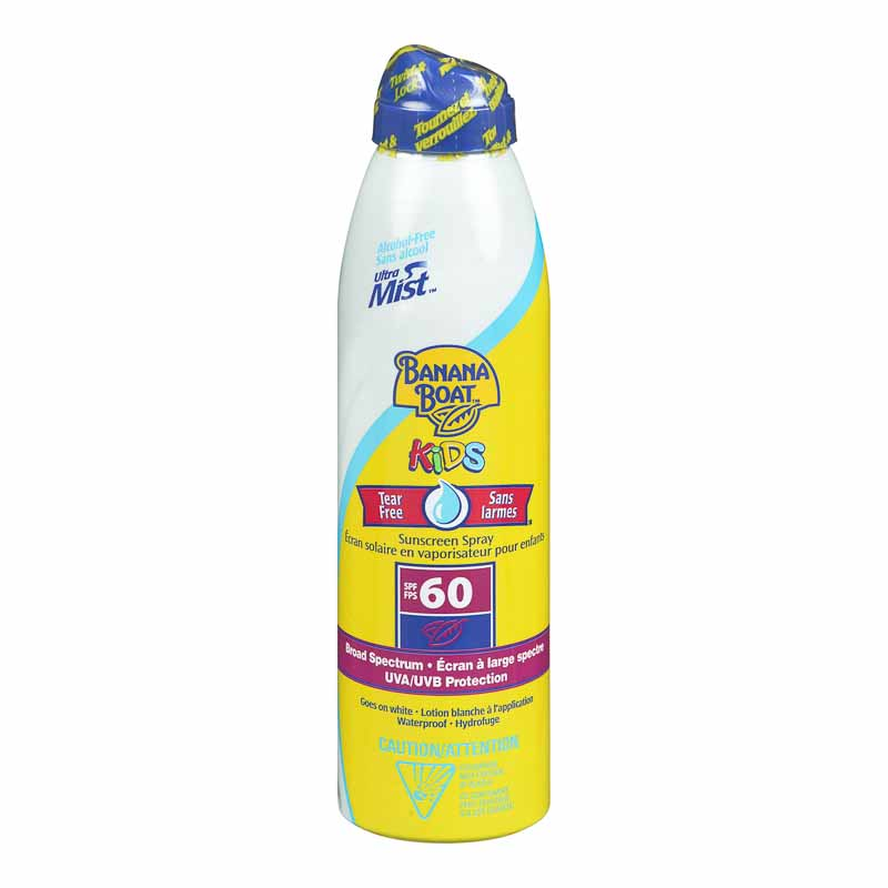 Banana Boat Ultra Mist for Kids - SPF 60 - 180ml