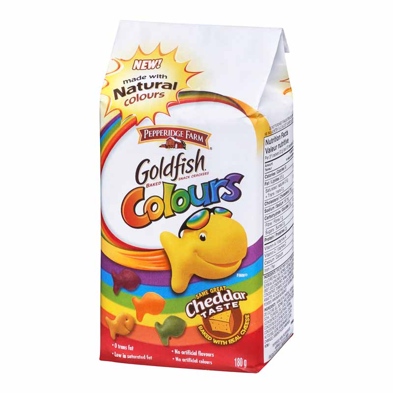 Pepperidge Farm Goldfish - Cheddar Colours - 180g