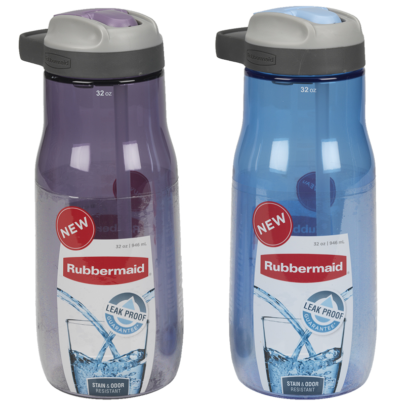 Rubbermaid Sip Hydration Bottle - Assorted - 946ml