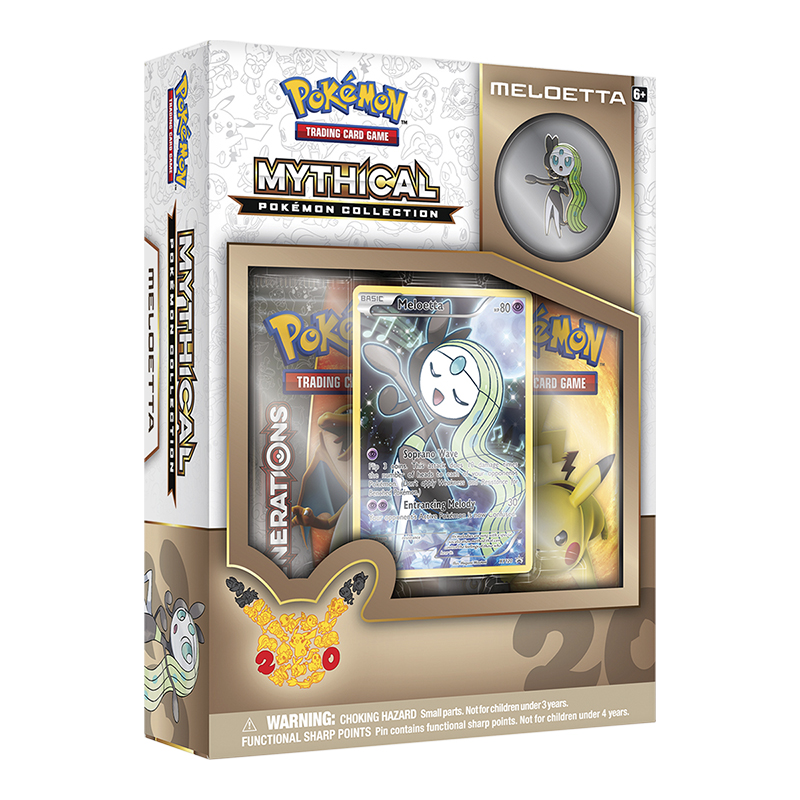 Pokemon Mythical - Meloetta Box