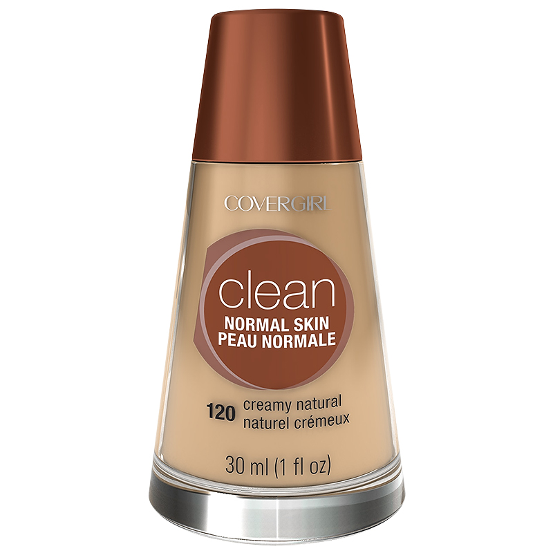 CoverGirl Clean Liquid Makeup for Normal Skin - Creamy Natural