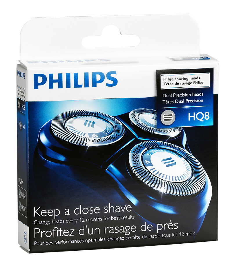 Philips 8000 Series Replacement Shaving Heads - HQ8/40