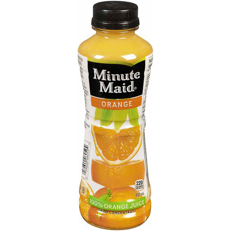 Minute Maid Orange Juice - 450ml