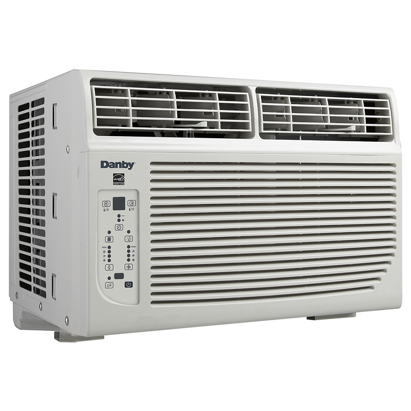 Danby 6000 BTU Window Air Conditioner - White - DAC060BBCWD