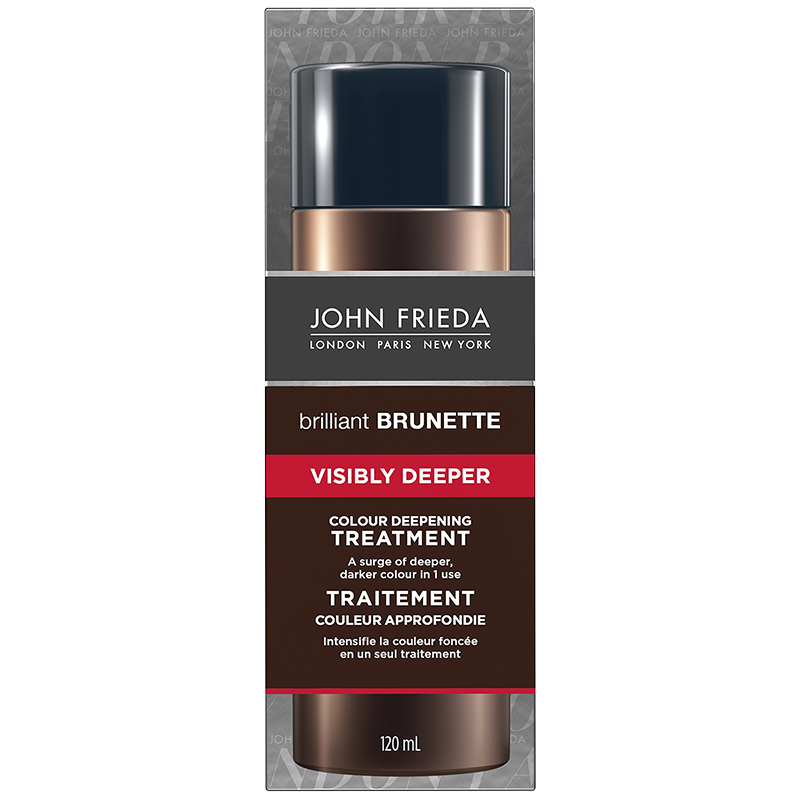 John Frieda Brilliant Brunette Visibly Deeper Treatment - 120ml