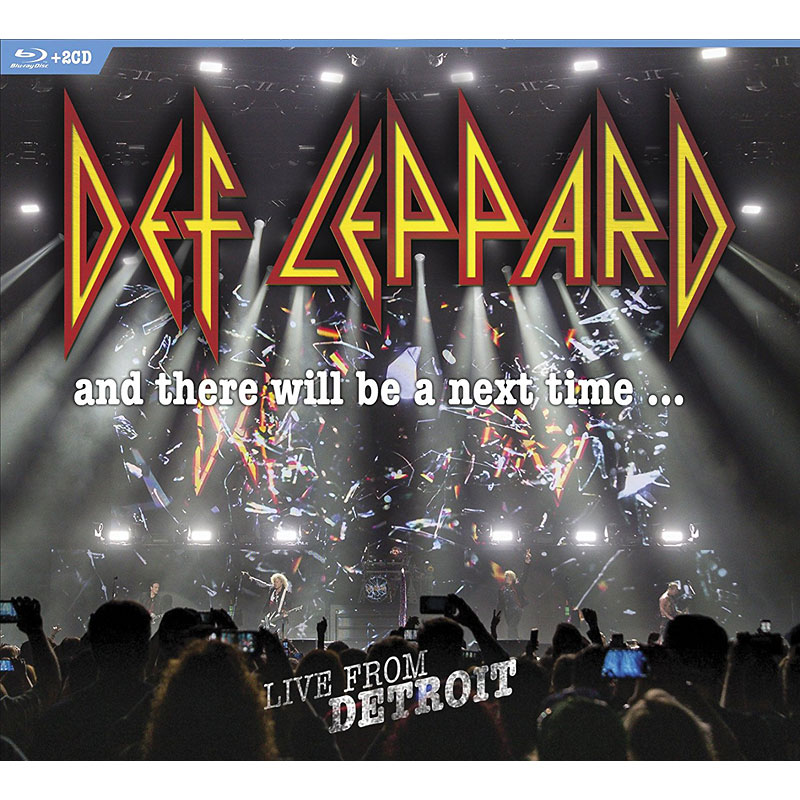 Def Leppard: Live from Detroit - Blu-ray + 2 CD
