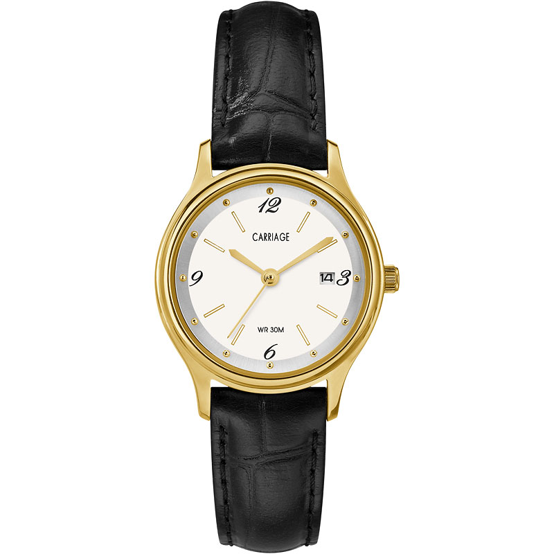 Timex Carriage Mid Size Leather Watch - CC3C781009J