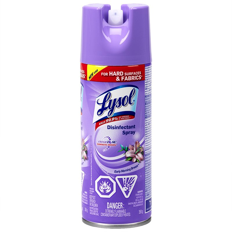 Lysol Disinfectant Spray - Country Scent - 350g