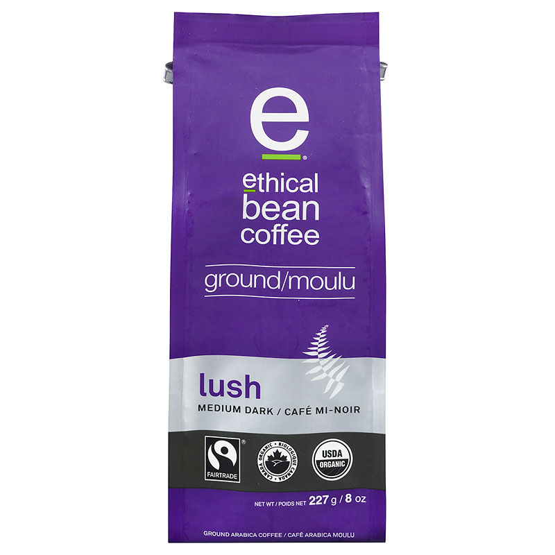 Ethical Bean - Lush Medium Dark - Ground Coffee - 227g