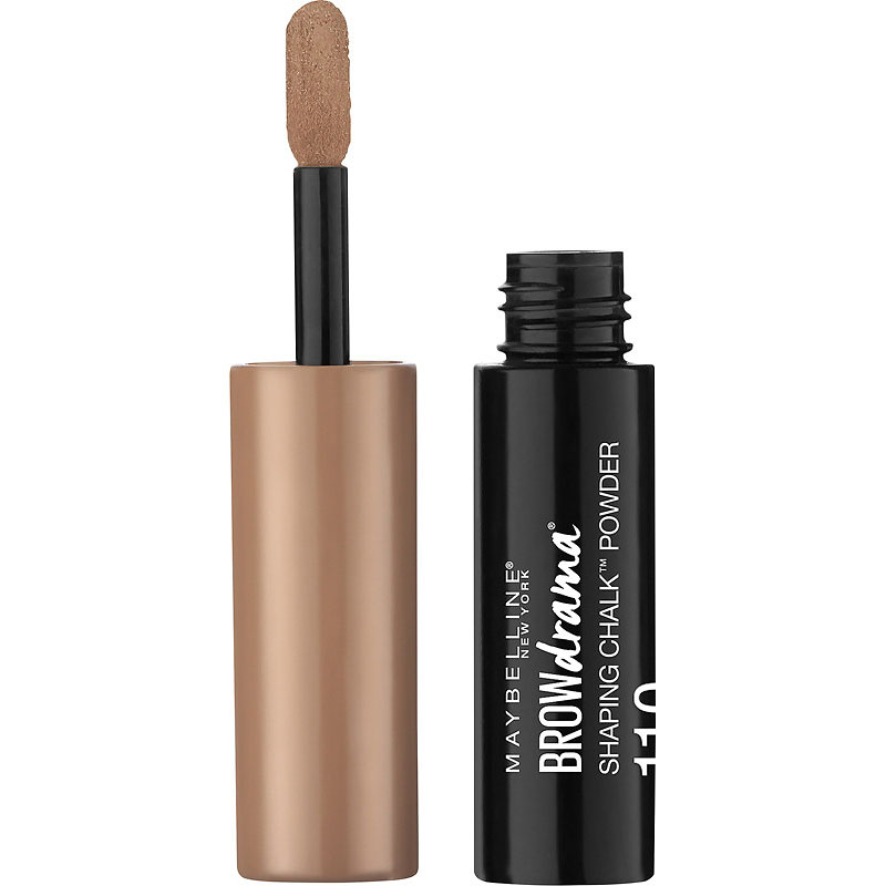 Maybelline Brow Drama Shaping Chalk Powder - Soft Brown