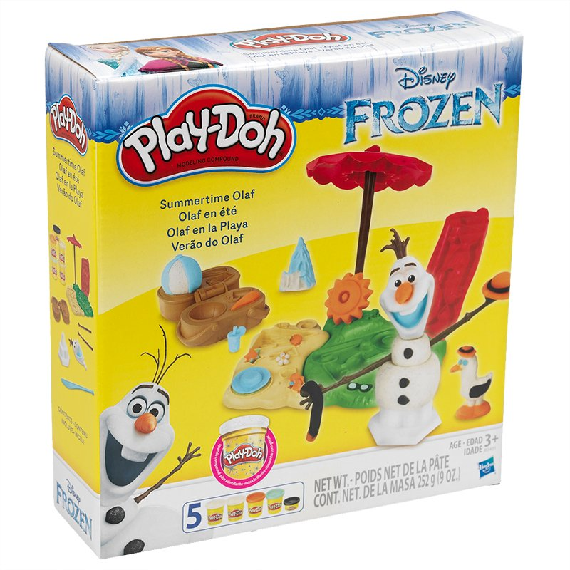 Play-doh Olaf Summertime Featuring Disney Frozen