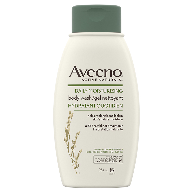 Aveeno Active Naturals Daily Moisturizing Body Wash - 354ml
