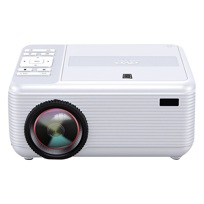 RCA Bluetooth Home Theatre Projector with DVD Player - White - RPJ140BT
