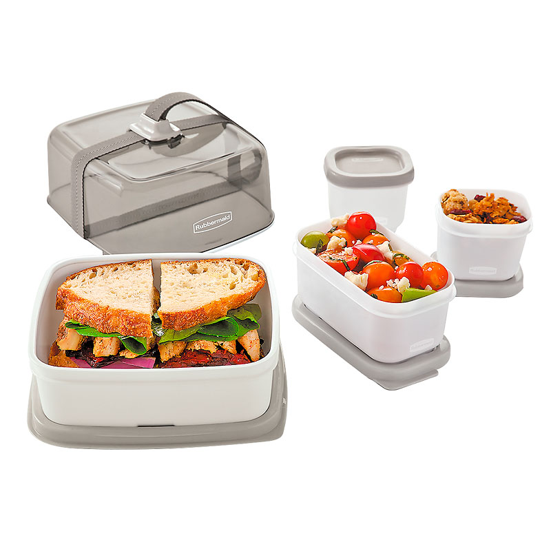 Rubbermaid Fasten + Go Sandwich Container - Assorted