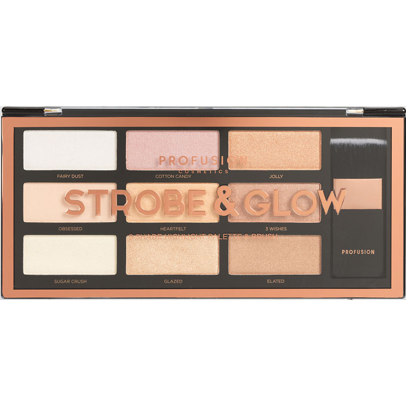 Profusion Strobe and Glow Artistry Palette