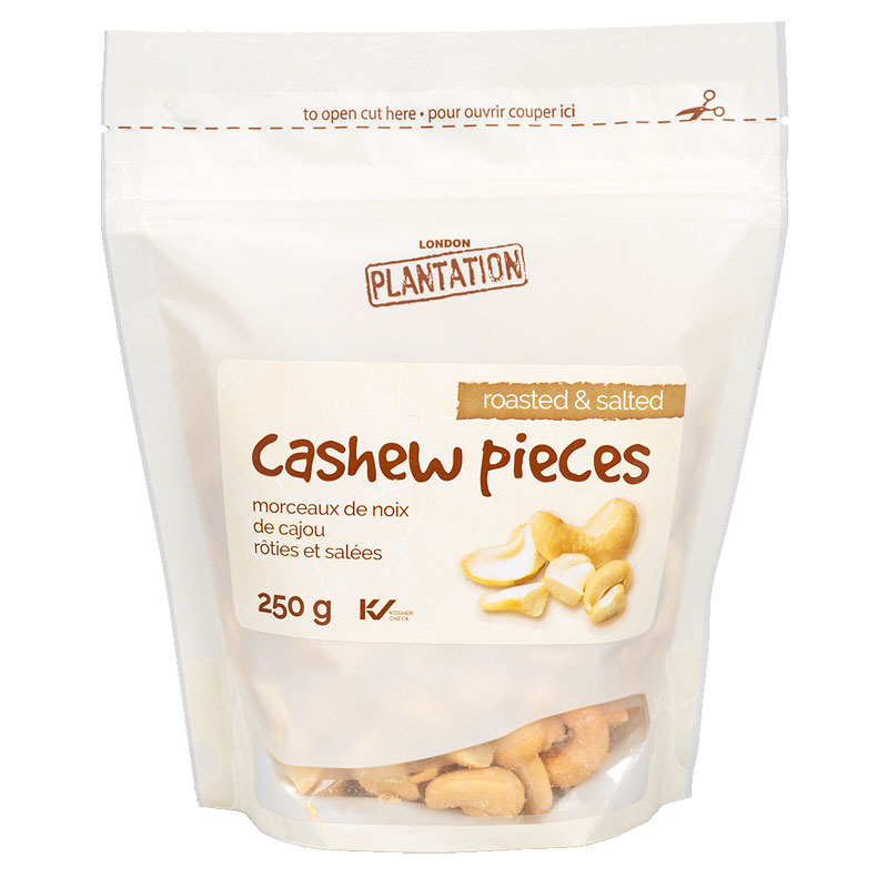 London Plantation Cashew Pieces - 250g