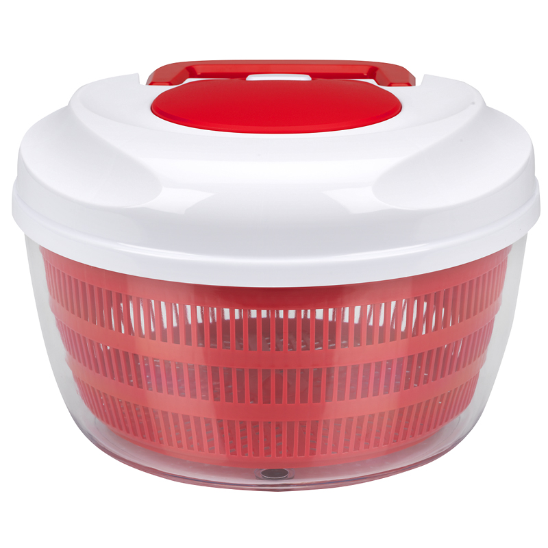London Drugs Salad Spinner - Red - 24.6 x 16.5cm