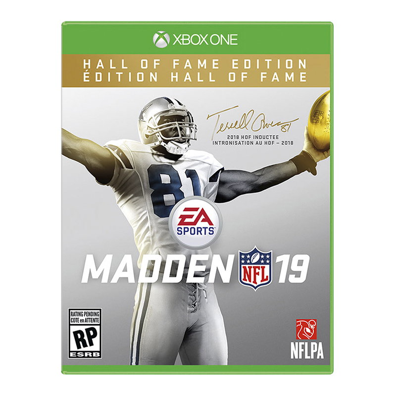 Xbox One Madden NFL 19: Hall of Fame Edition