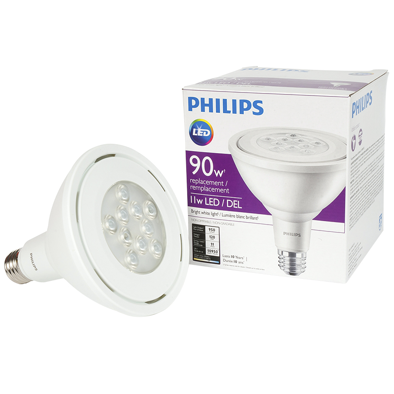 Philips Household PAR38 LED Bulb - Bright White - 90W