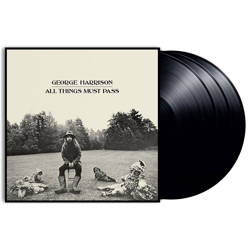 George Harrison - All Things Must Pass - 3 LP Vinyl