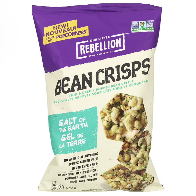 Our Little Rebellion Bean Crisps - Salt of the Earth - 170g